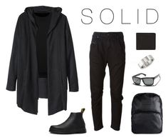 """Solid men"" by caritoviena on Polyvore featuring H&M, Dr. Martens, Diesel, Electric, Hood by Air, Ice, Dsquared2, men's fashion and menswear"