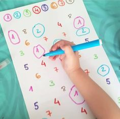 Kids Activities At Home, Preschool Learning Activities, Preschool Curriculum, Math For Kids, Preschool Worksheets, Fun Learning, Preschool Activities, Teaching Kids, Crafts For Kids