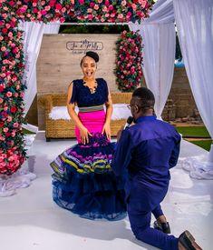 Venda Traditional Attire, Sepedi Traditional Dresses, South African Traditional Dresses, Traditional Weddings, African Wedding Attire, African Attire, African Fashion Dresses, African Dress, Bridesmaid Dress Colors