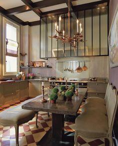 dine in kitchen