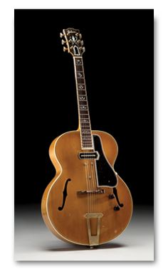 Vintage 1940 Gibson ES-250 Archtop Guitar with Charlie Christian Pick-up