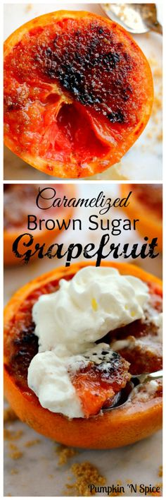 Loaded with flavor, this Caramelized Brown Sugar Grapefruit is broiled to perfection, resulting in a sweet and tangy treat