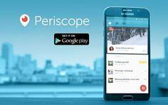 Todo sobre #Periscope, la aplicación de moda para compartir tu mundo en una transmisión en vivo y directo #liveStrean