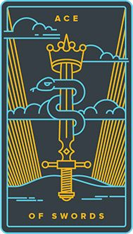 June 7 Tarot Card: Ace of Swords (Golden Thread deck) Have confidence; have faith. It takes more energy to fear the unknown than it does to embrace it Golden Thread Tarot, Page Of Swords, King Of Cups, Page Borders Design, Tarot Card Meanings, Oracle Cards, Tarot Decks, Numerology, Messages