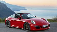 New Release Porsche 911 Targa 4 GTS 2016 Review Front View Model