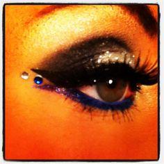 me again (: my NYE makeup! <3