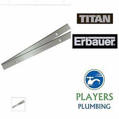 TITAN TTB579PLN PLANER THICKNESSER BLADES 210MM X 2 UK ERBAUER PB02 /& SCREWFIX
