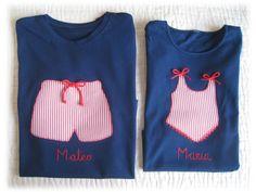 Camisetas y complementos infantiles hechos a mano.