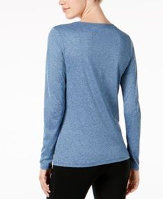 Nike Dry Legend Long Sleeve Training Top - Carbon Heather XS