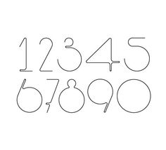 numbers typography pinterest bullet journals bullet and fonts