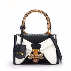 8dfc6bae8c Women Luxury Designer Bee PU Leather Shoulder Bags 2017 Small Totes  Crossbody Bag For Girls Ladies Women Handbags Bolsa Feminina