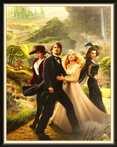 Oz.. Just saw it with Mark...  amazing.. but I am just a girl from Kansas so, of course, I love Oz.