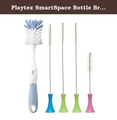Nylon Bristle 1 Small Detailed Cleaning Brush Easy to Clean Multi 3 Pack Bottle Cleaning Brush Set 1 Narrow Versatile Cleaning Brush Purpose Use Premium Quality 1 Long Handled Brush