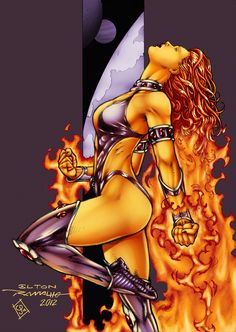 Starfire Comics | starfire by fableimpact fan art cartoons comics digital other 2012 ...