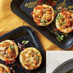 Caramelized Onion-and-Apple Tassies - Best Party Appetizers and Recipes - Southern Living
