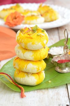 These Kesari sandesh are melt in your mouth and very very tasty and easy to make. everyday musing