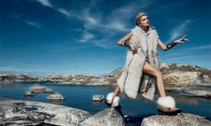 Lily Donaldson is 'The Nordic Queen' in Wintry Vogue Japan Editorial - Fashion Gone Rogue