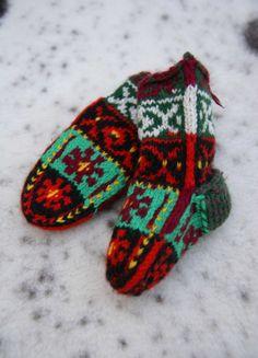 Original Gifts  Fireplace Stockings  Merry by MotivesAndPatterns, $24.99