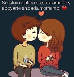 Foto de Instagram de Amo todo de ti❤ • 19 de diciembre de 2020 a las 16:22 Cute Love, I Love You, My Love, Lara Jean, Couple Goals, Family Guy, Words, Memes, Instagram