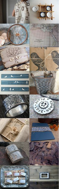 With Something Rustic by Happy Useful Things on Etsy--Pinned with TreasuryPin.com