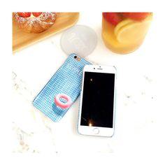Sommer typisch Blauschwimmteich mit treibendem Schwimmreifen Mattglasbirne Telephone case für Iphone6/6s/6plus -…