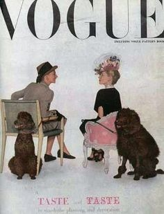 Vintage Vogue magazine covers - mylusciouslife.com - Vintage Vogue UK September 1945.jpg