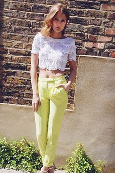 Millie Mackintosh wearing River Island top, trousers and heels #riverisland