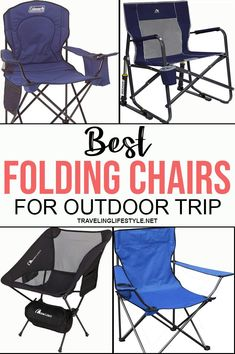 As summer continues to heat up, a lot of us are heading outside to get a little bit of quality time in the great outdoors. Best Folding Chairs, Folding Camping Chairs, Best Travel Gadgets, Recreational Activities, Top Travel Destinations, Ways To Relax, Butterfly Chair, Travel Gifts