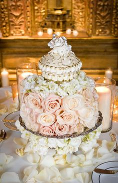 """Casey's Cupcakes® - Casey's Cupcakes Wedding Cakes :: """"$10,000 cupcake"""" wedding cake"""