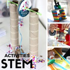 How to set up STEM activities with STEM projects kids will love. STEM ideas that are frugal, fun, and full of learning with engineering, science, and math!