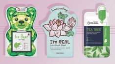 In many places throughout Asia, whether you're in a drugstore, a grocery store, or a specialty beauty store, you'll find shelves upon shelves lined with intricately packaged sheet masks. Best Sheet Masks, Hydrating Mask, How To Exfoliate Skin, Anti Aging Facial, Bright Skin, Facial Masks, Tea Tree, Skin Care Tips