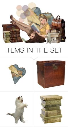 """""""i love books more than people."""" by lady-meme1 ❤ liked on Polyvore featuring art"""