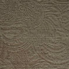 a beige chenille curtain and upholstery fabric - Berkeley Golden Paisley