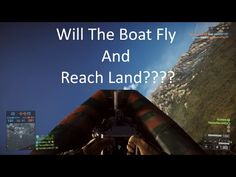 Will The Boat Fly And Reach Land?!?!