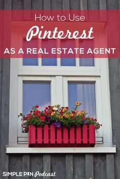How to Use Pinterest as a real estate agent | Pinterest marketing tips | Social Media Tips via @simplepinmedia
