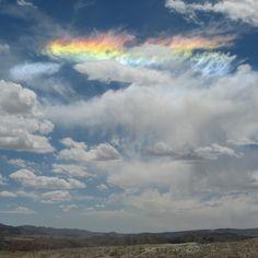 Wednesday's Cloud : circumhorizon arc