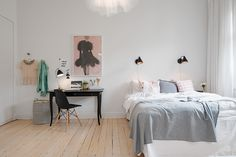 Bedroom // huntinglouise.com