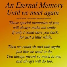 An Eternal Memory