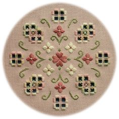Hardanger Embroidery Design Spring Romance - an original Hardanger design of delicate flowers in soft romantic colours Types Of Embroidery, Learn Embroidery, Embroidery Applique, Cross Stitch Embroidery, Embroidery Patterns, Cross Stitch Patterns, Paper Embroidery, Doily Patterns, Craft Patterns