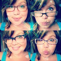 #glasses #frames #lenses   Glasses collection Love the bottom right corner
