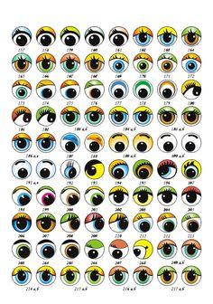 http://www.imagenesydibujosparaimprimir.com/2014/04/ojos-de-fofuchas-para-imprimir.html