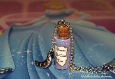 Dreams Do Come True Magical Necklace with a by Life is the Bubbles