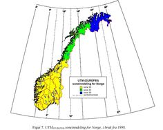 UTM i Norge Norway, Map, Location Map, Maps