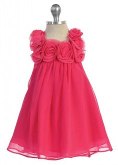 Pinkes kleid madchen