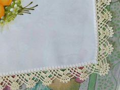 Crochet Edging Patterns, Crochet Borders, Crochet Designs, Crochet Chicken, Chrochet, Crochet Doilies, Crochet Projects, Needlework, Weaving
