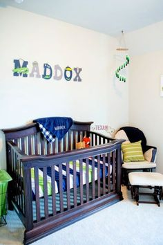 Looking to put together a crocodile nursery (or alligator nursery) theme? Look no further for all the best navy, green, and white finds to decorate it with!