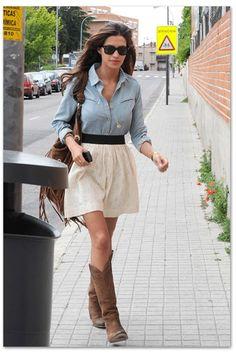 Love her style - Sara Carbonero