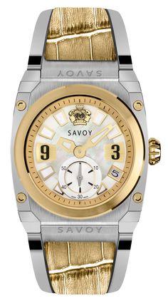 Savoy Watches Icon Light Ladies 35mm – Yellow Leather Insert S313A3P0103B1028  #SavoyIndia