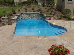 In ground pool in central PA, Goodall Pools & Spas. Camp Hill, Refurbishment, In Ground Pools, Carlisle, Spas, Swimming, Outdoor Decor, Restoration, Swim