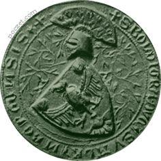 Bolesław I Pierworodny - pieczęć herbowa (1318-61)